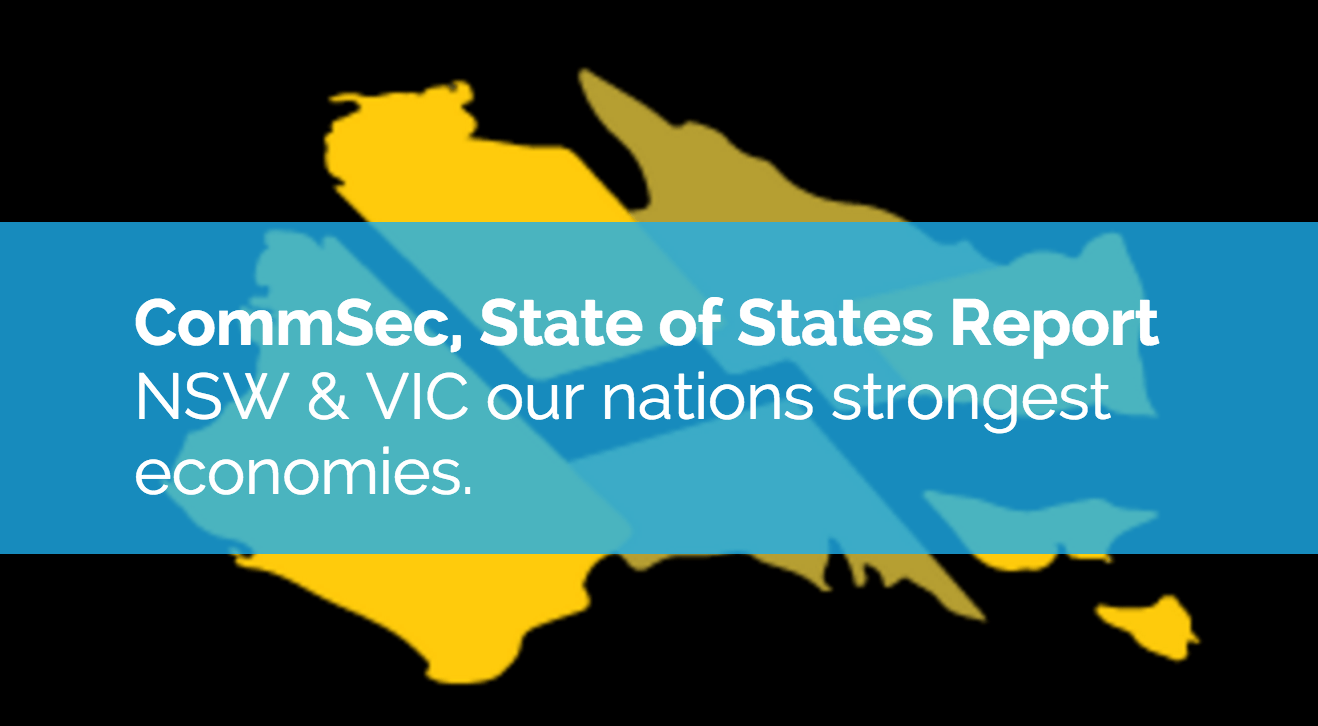 NSW & VIC, Our Nations Strongest Performing Economies