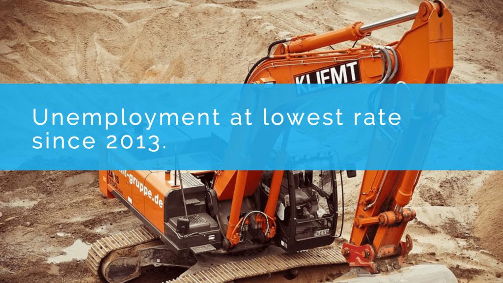 unemployment at lowest levels