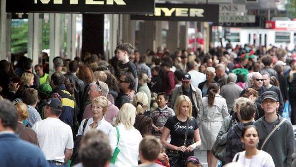 Melbourne Population Street